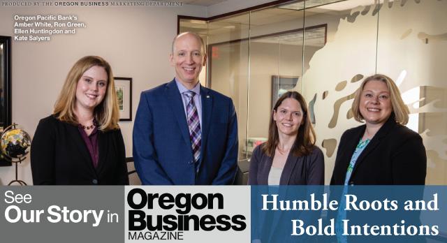 Oregon Business Magazine 2018 Feature